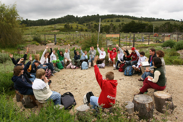 Collaborative Learning Outside Classroom ~ Outdoor classroom management the collective school
